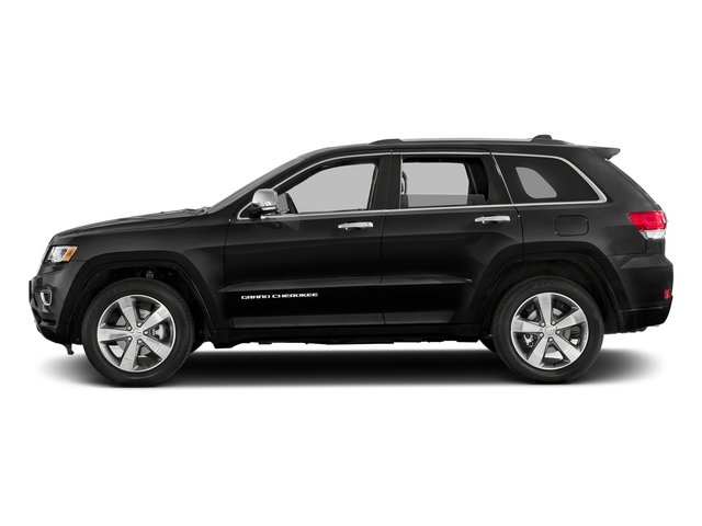 Brilliant Black Crystal Pearlcoat 2016 Jeep Grand Cherokee Pictures Grand Cherokee Utility 4D High Altitude 2WD photos side view