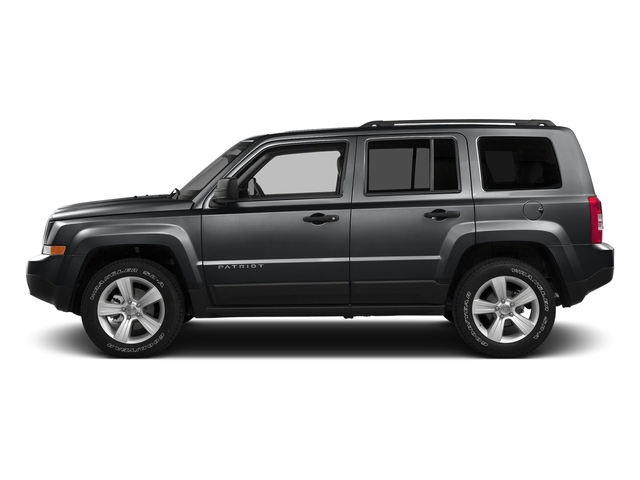 Granite Crystal Metallic Clearcoat 2016 Jeep Patriot Pictures Patriot Utility 4D High Altitude 2WD I4 photos side view