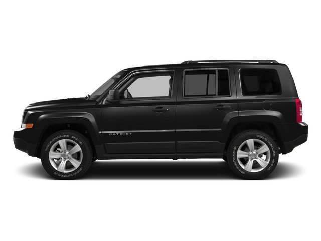 Black Clearcoat 2016 Jeep Patriot Pictures Patriot Utility 4D High Altitude 2WD I4 photos side view