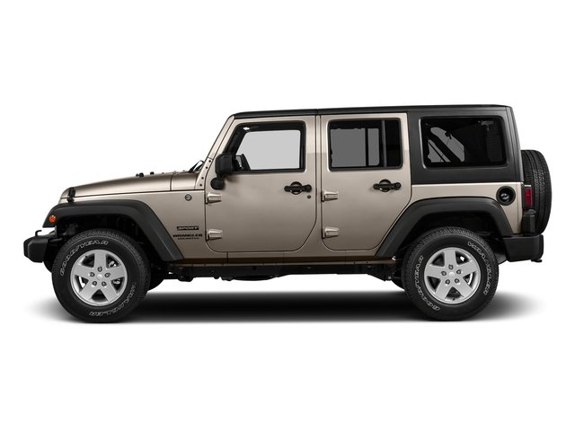 Mojave Sand Clearcoat 2016 Jeep Wrangler Unlimited Pictures Wrangler Unlimited Utility 4D Unlimited Sport 4WD V6 photos side view