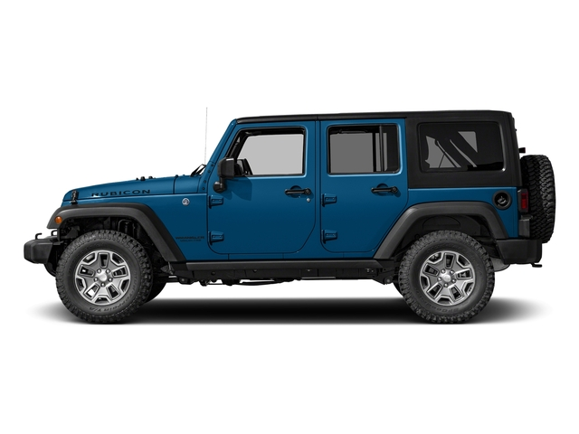 Hydro Blue Pearlcoat 2016 Jeep Wrangler Unlimited Pictures Wrangler Unlimited Utility 4D Unlimited Rubicon 4WD V6 photos side view