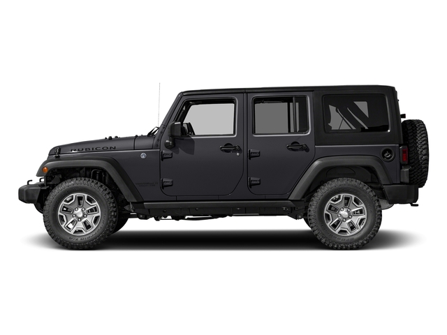 Rhino Clearcoat 2016 Jeep Wrangler Unlimited Pictures Wrangler Unlimited Utility 4D Unlimited Rubicon 4WD V6 photos side view