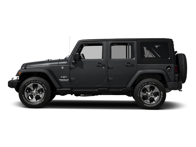 Granite Crystal Metallic Clearcoat 2016 Jeep Wrangler Unlimited Pictures Wrangler Unlimited Utility 4D Unlimited Sahara 4WD V6 photos side view