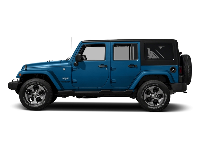 Hydro Blue Pearlcoat 2016 Jeep Wrangler Unlimited Pictures Wrangler Unlimited Utility 4D Unlimited Sahara 4WD V6 photos side view