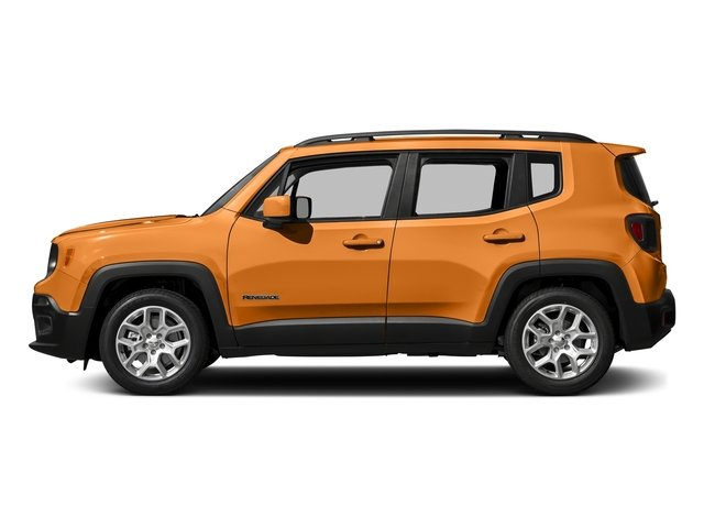 Omaha Orange 2016 Jeep Renegade Pictures Renegade Utility 4D Latitude 2WD I4 photos side view
