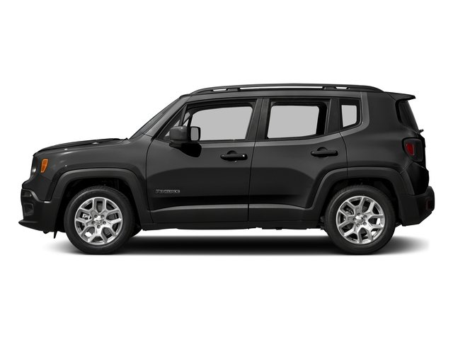 Black 2016 Jeep Renegade Pictures Renegade Utility 4D Latitude AWD I4 photos side view