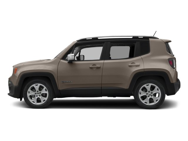 Mojave Sand 2016 Jeep Renegade Pictures Renegade Utility 4D Limited AWD I4 photos side view