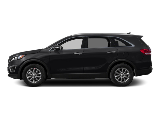 Ebony Black 2016 Kia Sorento Pictures Sorento Utility 4D LX 2WD V6 photos side view