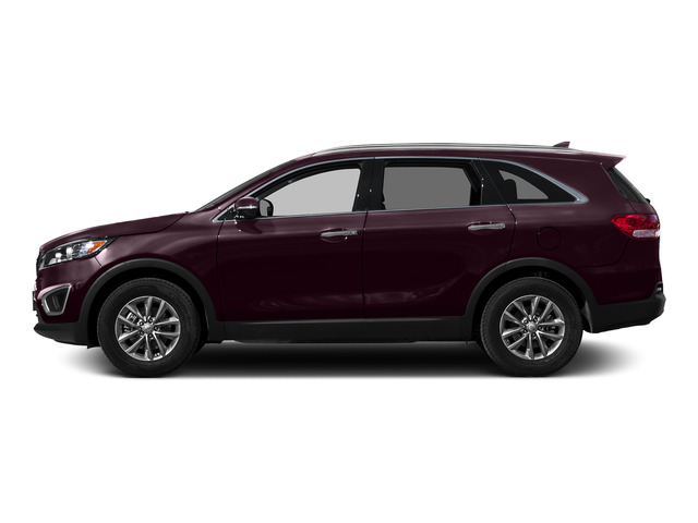 Dark Cherry 2016 Kia Sorento Pictures Sorento Utility 4D LX 2WD V6 photos side view