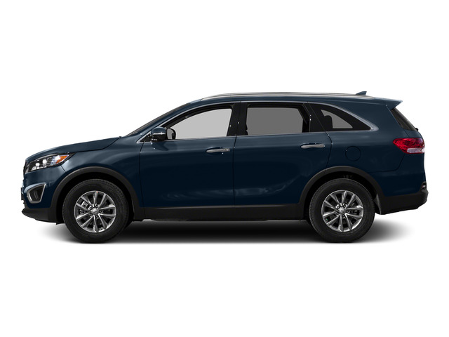Blaze Blue 2016 Kia Sorento Pictures Sorento Utility 4D LX 2WD V6 photos side view