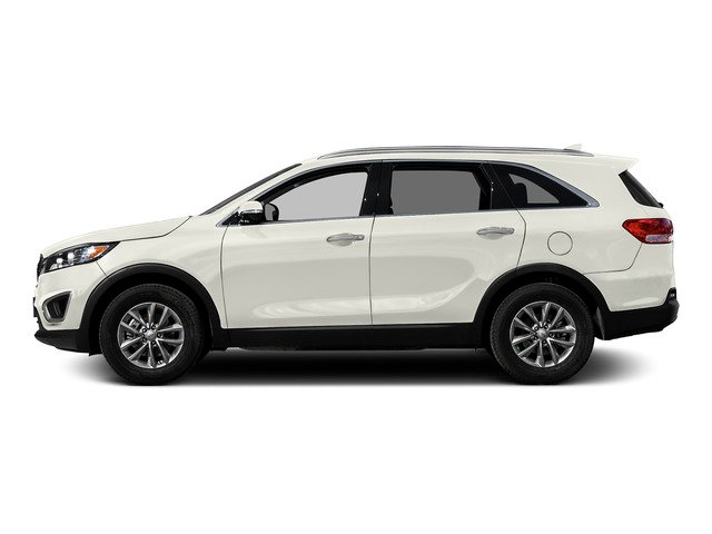Snow White Pearl 2016 Kia Sorento Pictures Sorento Utility 4D LX 2WD V6 photos side view