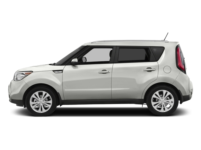 Clear White 2016 Kia Soul Pictures Soul Wagon 4D + I4 photos side view