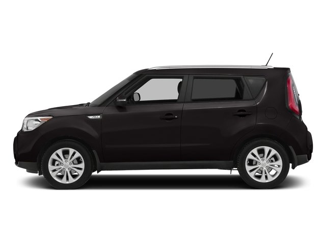 Shadow Black 2016 Kia Soul Pictures Soul Wagon 4D + I4 photos side view