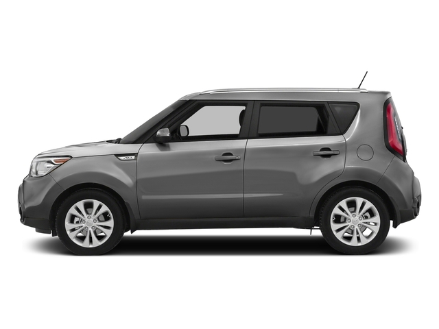 Bright Silver 2016 Kia Soul Pictures Soul Wagon 4D + I4 photos side view