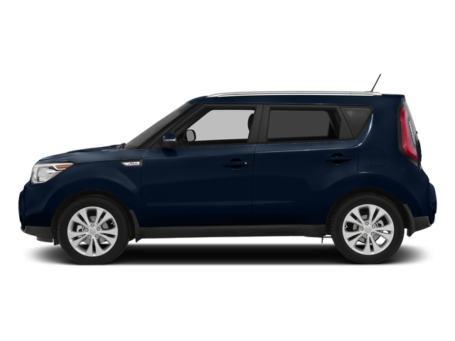Fathom Blue w/White Roof 2016 Kia Soul Pictures Soul Wagon 4D + I4 photos side view