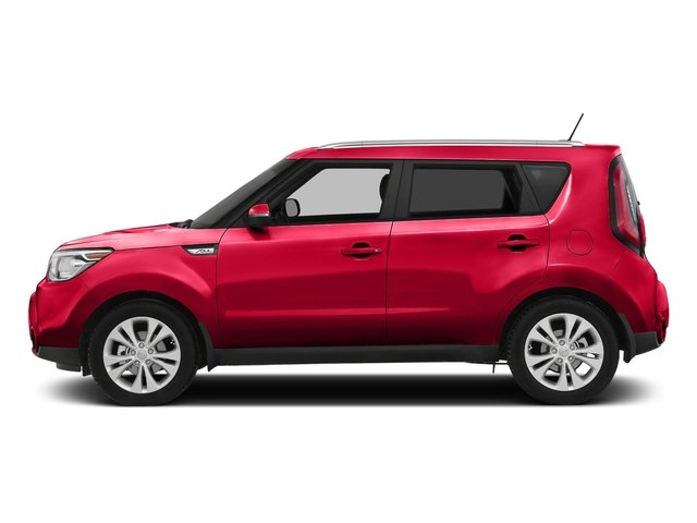 Inferno Red w/Black Roof 2016 Kia Soul Pictures Soul Wagon 4D + I4 photos side view