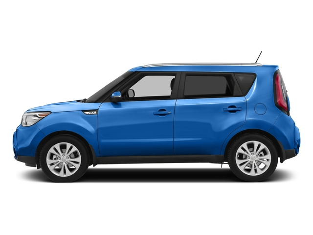 Caribbean Blue 2016 Kia Soul Pictures Soul Wagon 4D + I4 photos side view