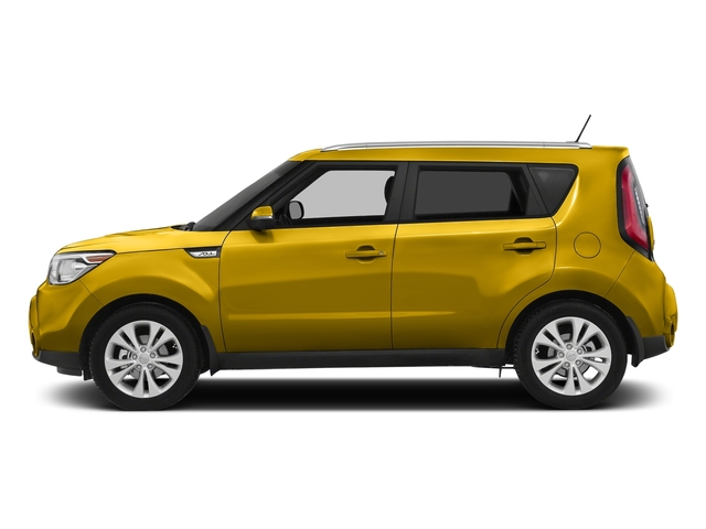 Solar Yellow 2016 Kia Soul Pictures Soul Wagon 4D + I4 photos side view