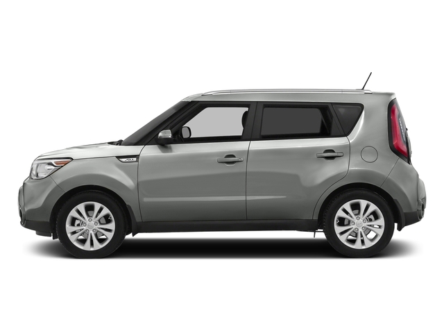 Titanium Gray 2016 Kia Soul Pictures Soul Wagon 4D + I4 photos side view