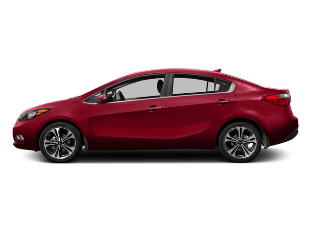 Crimson Red Metallic 2016 Kia Forte Pictures Forte Sedan 4D LX I4 photos side view
