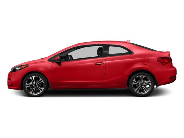 Racing Red 2016 Kia Forte Koup Pictures Forte Koup Coupe 2D SX Technology I4 photos side view