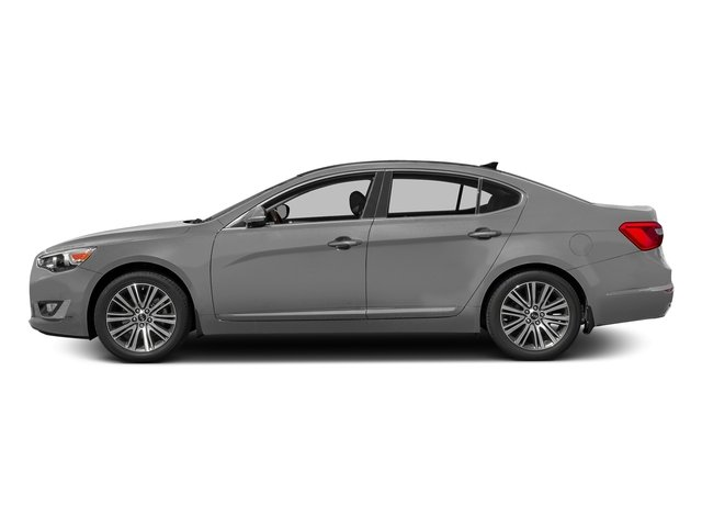 Silky Silver Metallic 2016 Kia Cadenza Pictures Cadenza Sedan 4D V6 photos side view