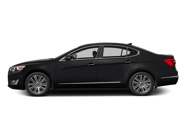Aurora Black Pearl 2016 Kia Cadenza Pictures Cadenza Sedan 4D V6 photos side view