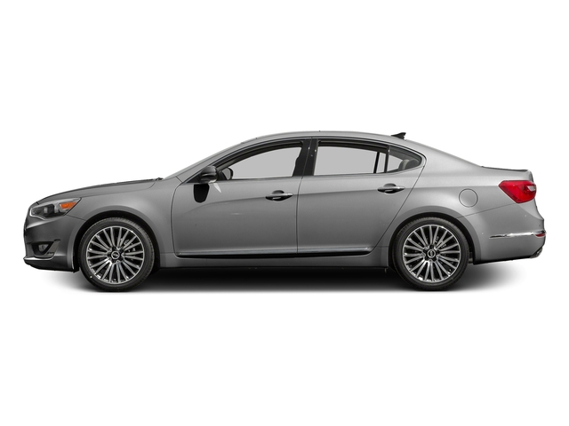 Silky Silver Metallic 2016 Kia Cadenza Pictures Cadenza Sedan 4D Premium V6 photos side view