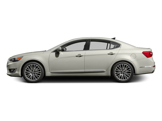 Snow White Pearl 2016 Kia Cadenza Pictures Cadenza Sedan 4D Premium V6 photos side view