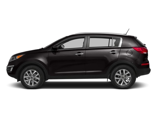 Black Cherry 2016 Kia Sportage Pictures Sportage Utility 4D EX 2WD I4 photos side view