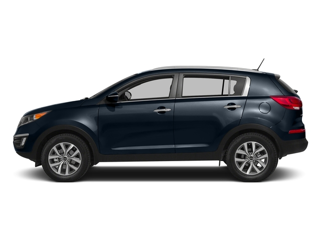 Twilight Blue 2016 Kia Sportage Pictures Sportage Utility 4D EX 2WD I4 photos side view