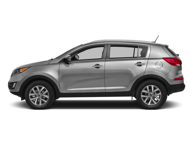 Mineral Silver 2016 Kia Sportage Pictures Sportage Utility 4D LX Popular AWD I4 photos side view