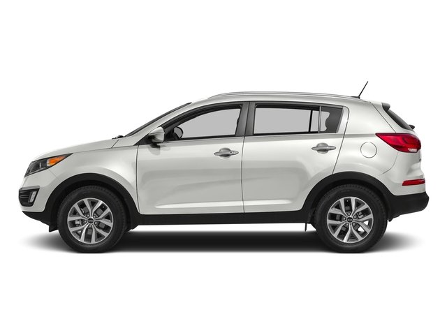 Clear White 2016 Kia Sportage Pictures Sportage Utility 4D LX Popular AWD I4 photos side view