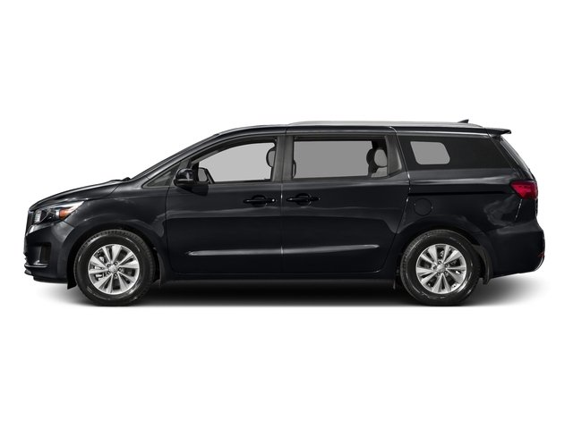 Aurora Black Pearl 2016 Kia Sedona Pictures Sedona Wagon EX V6 photos side view