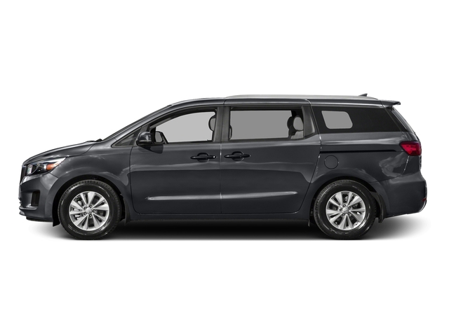 Platinum Graphite Pearl Metallic 2016 Kia Sedona Pictures Sedona Wagon EX V6 photos side view