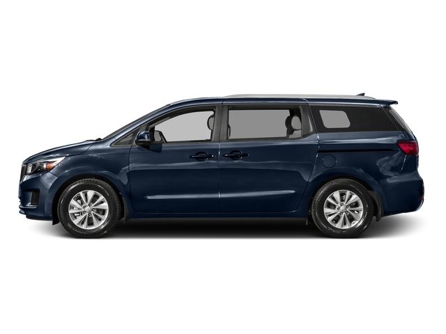 Midnight Sapphire Pearl Metallic 2016 Kia Sedona Pictures Sedona Wagon EX V6 photos side view
