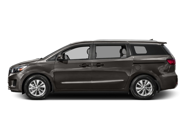 Titanium Bronze Pearl Metallic 2016 Kia Sedona Pictures Sedona Wagon EX V6 photos side view