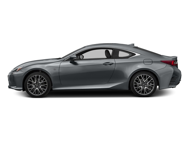 Nebula Gray Pearl 2016 Lexus RC 350 Pictures RC 350 Coupe 2D RC350 AWD V6 photos side view