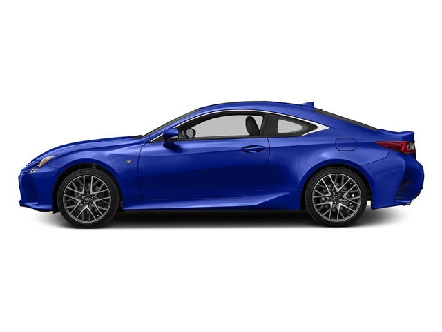 Ultrasonic Blue Mica 2.0 2016 Lexus RC 350 Pictures RC 350 Coupe 2D RC350 AWD V6 photos side view