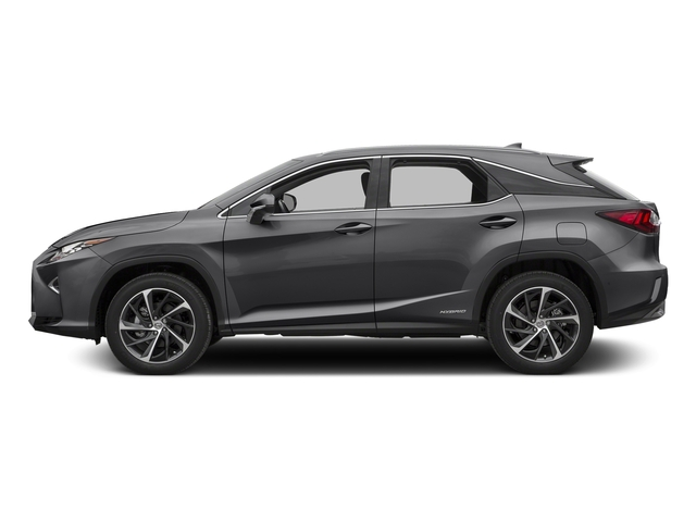 Nebula Gray Pearl 2016 Lexus RX 450h Pictures RX 450h Utility 4D 2WD V6 Hybrid photos side view
