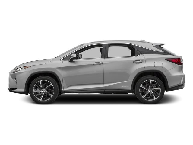 Silver Lining Metallic 2016 Lexus RX 450h Pictures RX 450h Utility 4D 2WD V6 Hybrid photos side view