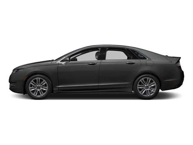 Magnetic Metallic 2016 Lincoln MKZ Pictures MKZ Sedan 4D EcoBoost I4 Turbo photos side view
