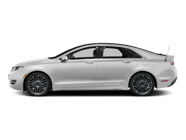 Confidential White 2016 Lincoln MKZ Pictures MKZ Sedan 4D Black Label I4 Hybrid photos side view