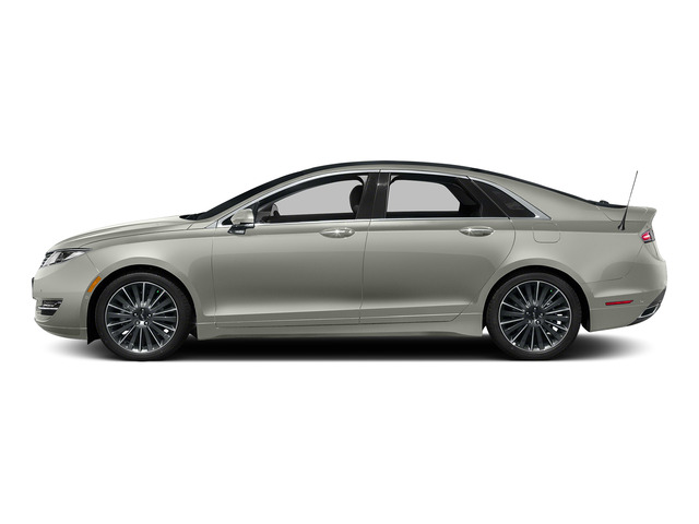 Crystal Silver 2016 Lincoln MKZ Pictures MKZ Sedan 4D Black Label I4 Hybrid photos side view