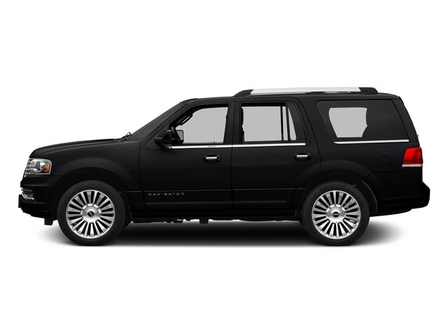 Black Velvet 2016 Lincoln Navigator Pictures Navigator Utility 4D Reserve 2WD V6 Turbo photos side view