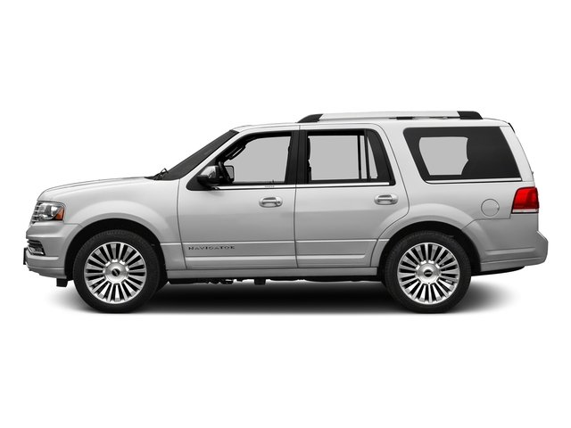 Ingot Silver Metallic 2016 Lincoln Navigator Pictures Navigator Utility 4D Reserve 2WD V6 Turbo photos side view