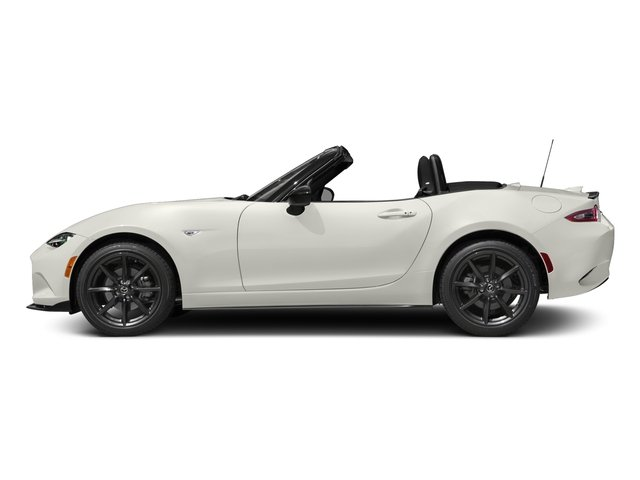 Arctic White 2016 Mazda MX-5 Miata Pictures MX-5 Miata Convertible 2D Club I4 photos side view
