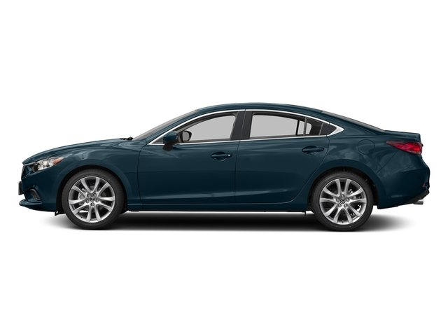 Deep Crystal Blue 2016 Mazda Mazda6 Pictures Mazda6 Sedan 4D i Touring I4 photos side view