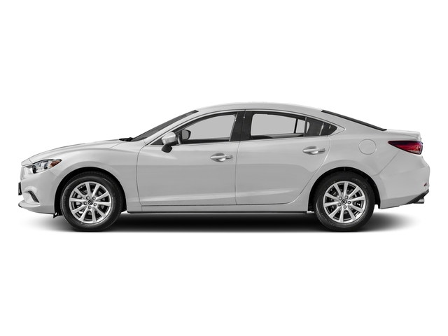 Snowflake White Pearl Mica 2016 Mazda Mazda6 Pictures Mazda6 Sedan 4D i Sport I4 photos side view