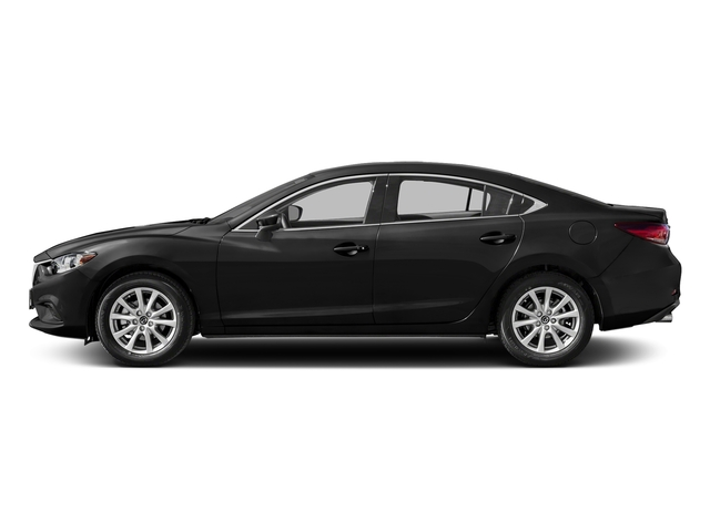 Jet Black Mica 2016 Mazda Mazda6 Pictures Mazda6 Sedan 4D i Sport I4 photos side view